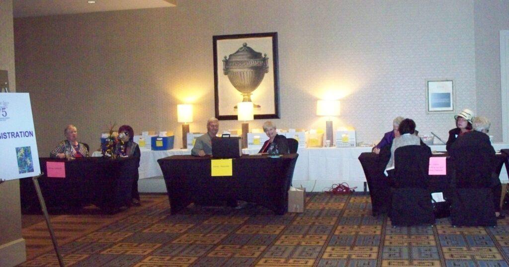 The Registration Desks